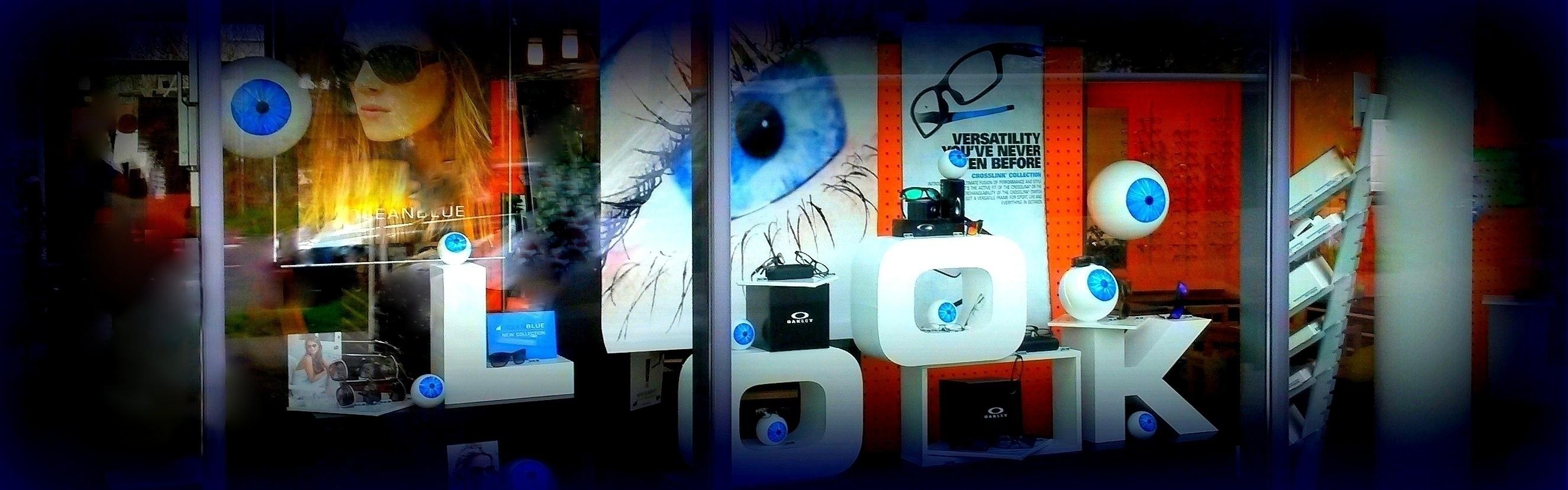 Schaufensterdekoration - Optiker