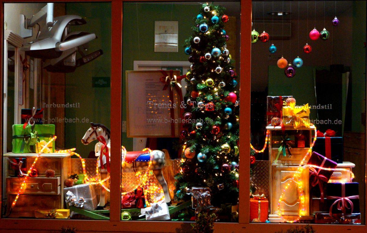 Weihnachten - Schaufensterdekoration weihnachten ...